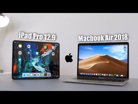 Apple iPad Pro 12.9 vs Macbook Air 2018 Comparison Review!