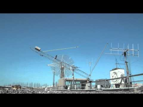 Mast take-down at OZ7SAT (timelapse)