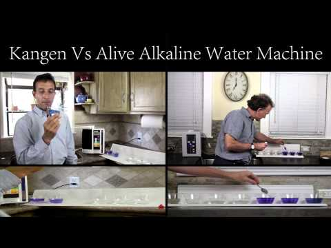 alive alkaline water machine