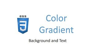 CSS color gradient | Background and Text