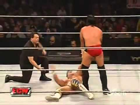 WWE ECW - CM Punk vs Matt Striker *1/16/2007*