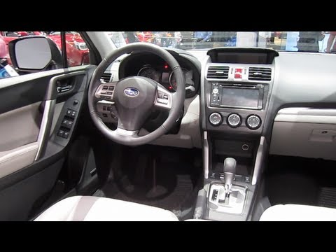 2014 SUBARU FORESTER REVIEW, ENGINE, INTERIOR