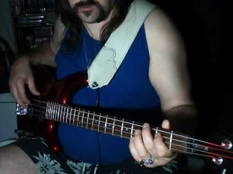 Rush Entre Nous bass cover Video