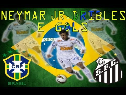 Neymar - Dribles E Gols Part 2/2