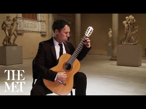 Jorge Caballero plays Allemande from the Partita in A minor, by Johann Sebastian Bach