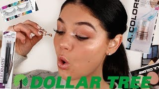 FULL FACE DOLLAR TREE MAKEUP 2019 | DOLLAR STORE MAKEUP CHALLENGE! | Blissfulbrii
