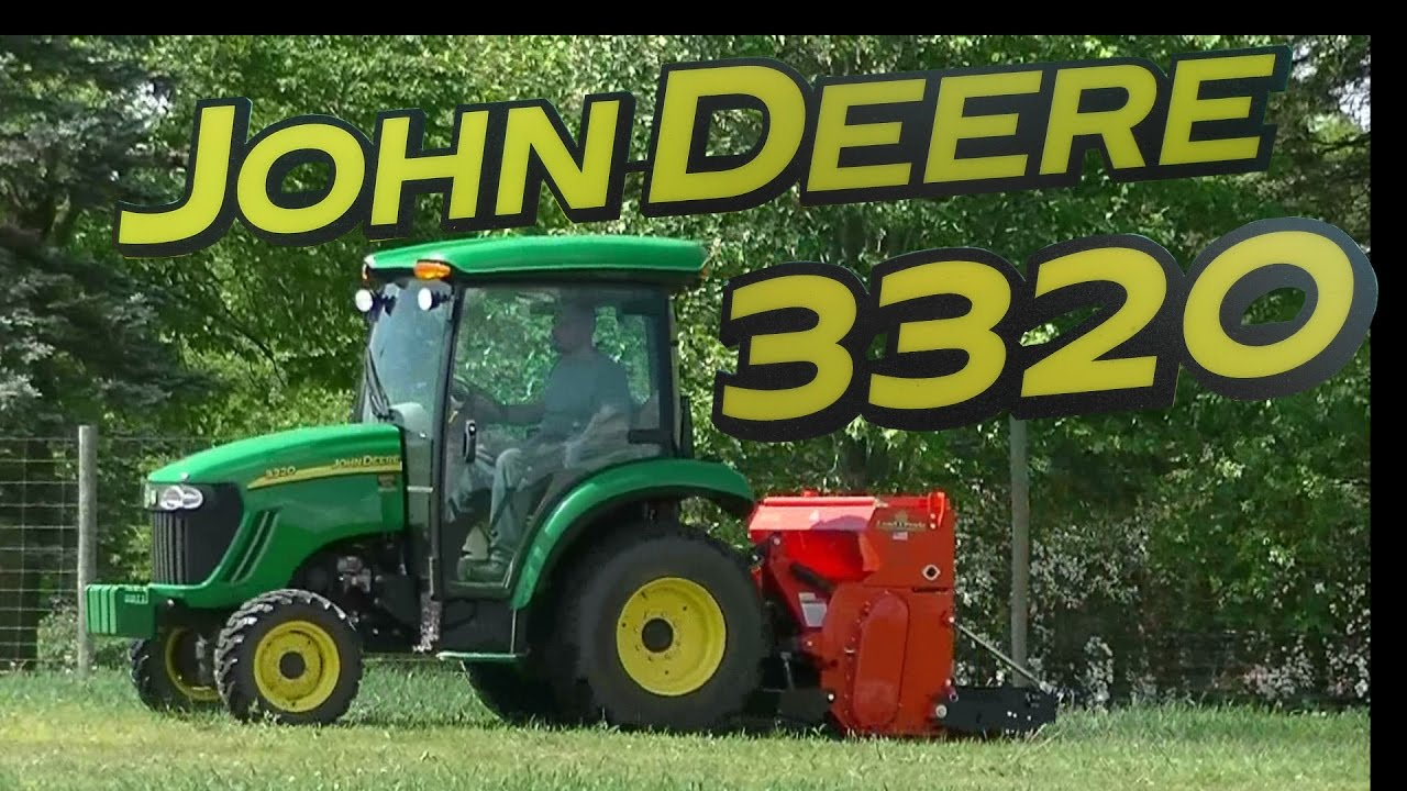 John Deere 3320 And Landpride