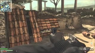 MW3: Knife only moab on 2v2 (Face off)!!