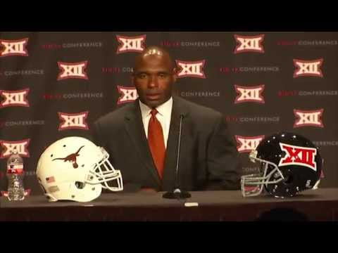 Charlie Strong Big 12 Media Days press conference [July 22, 2014]