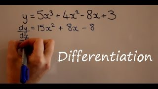 Differentiation AS Maths