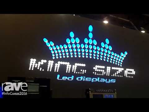 InfoComm 2016: King Size LED Demos LED Wall Solutions