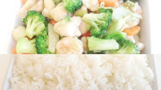HOW TO MAKE VEGETABLE STIR FRY AND JAZMINE RICE