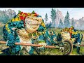 Lizardmen vs Empire: Kroq-Gar Last Battle - Total War WARHAMMER 2 Cinematic Battle
