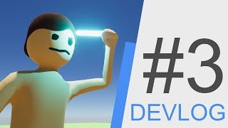 Survival Game Devlog #3 - Inventory And Player Animations, Hotbar Functionality, Glow Stick + MORE!
