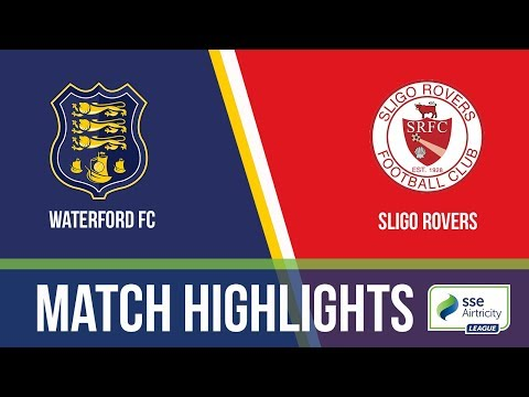 GW16: Waterford 3-3 Sligo Rovers