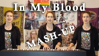 Download Lagu In My Blood MASH-UP - Shawn Mendes cover by Lilly Brown Gratis STAFABAND