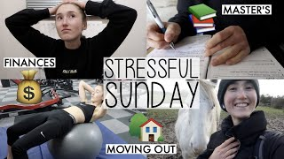 MASTER'S, FINANCES & WHY DO I WANT TO MOVE OUT? | THE REALITIES OF LIVING AT HOME (SUNDAY VLOG)