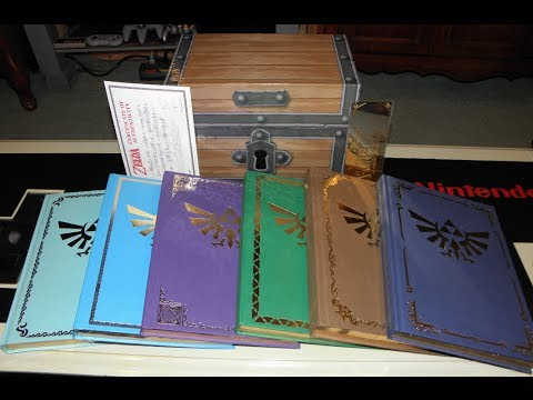 Unboxing The Legend of Zelda Guide Set From Prima