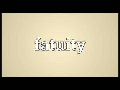 Header of fatuity