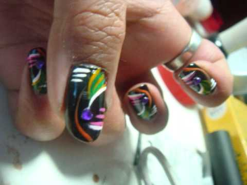 Flashy, Eye Catching, Bright, Clubbing Nails. Pt.1 ! Video