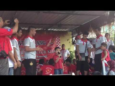Dikir Barat With The Red Warriors trwc Klia Event 2013 video