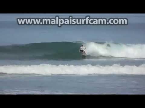 Mal Pais Costa Rica, www malpaisurfcam com 07 16 15 Surfing Santa Teresa