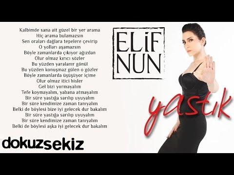 Elif Nun Yastık