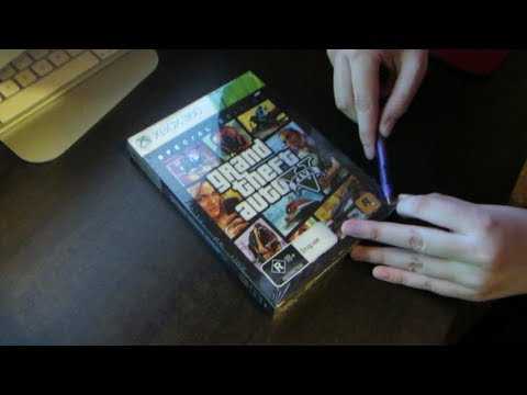 GTA 5 Unboxing & Midnight Launch (GTA V)