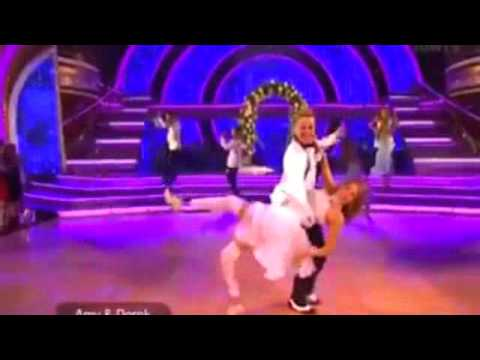 "DWTS 18 Week 6 : Amy Purdy & Derek Hough - Jive ""Shout"" by The Isley Brother"