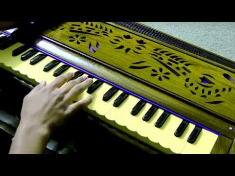 Raag Kafi on Harmonium