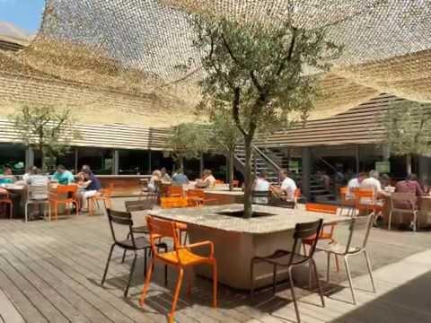 Bacs Image'In sur la terrasse patio d'une entreprise Marseillaise