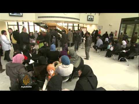 Syrian refugees desperate for healthcare