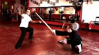 Introducing Taiji Fencing (Tai Chi Sword Training)