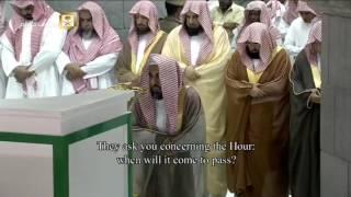 Makkah Taraweeh 2016 Night 7 last 10 rakats صلاة التراويح 2016 الليلة 7