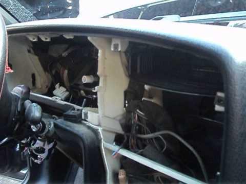 VW-B4 замена радиатора печки-6