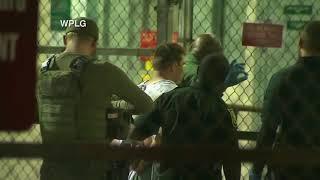 SuSpic south Florida school shooter Nikolas Cruz arrives at the Broward County Jail