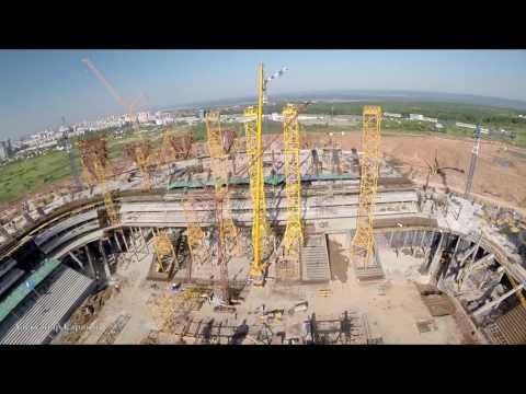 Строительство стадиона в Самаре . Часть 24, июнь 2016 / Samara