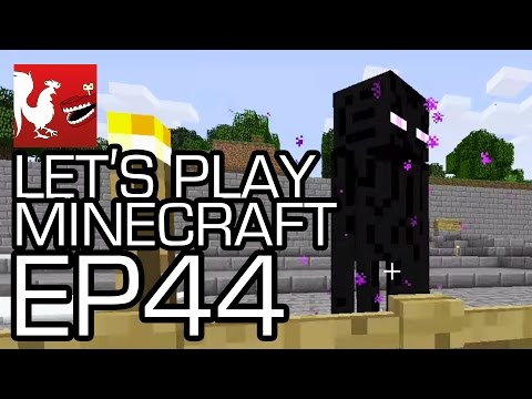 Let's Play Minecraft Episode 44 - Ender Pearl Race