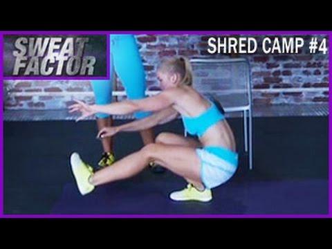 Shred Camp Full Body Partner Workout #4: Sweat Factor- Maddie & Amanda