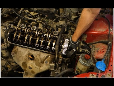 How to replace timing belt Honda Civic. Years 1992 to 2005.