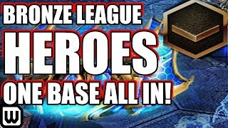 BRONZE LEAGUE HEROES #119 | ONE BASE BASE RACE! - PotatoPleb v StarDuck