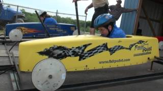 Soap Box Derby Racing In Houlton Maine | Maine State 2013, 18th Race Video