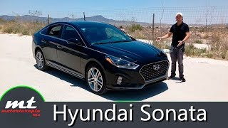 Hyundai Sonata 2018 - Se merece aplausos
