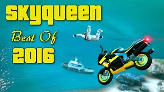 GTA V Skydive - Skyqueen Best Of 2016