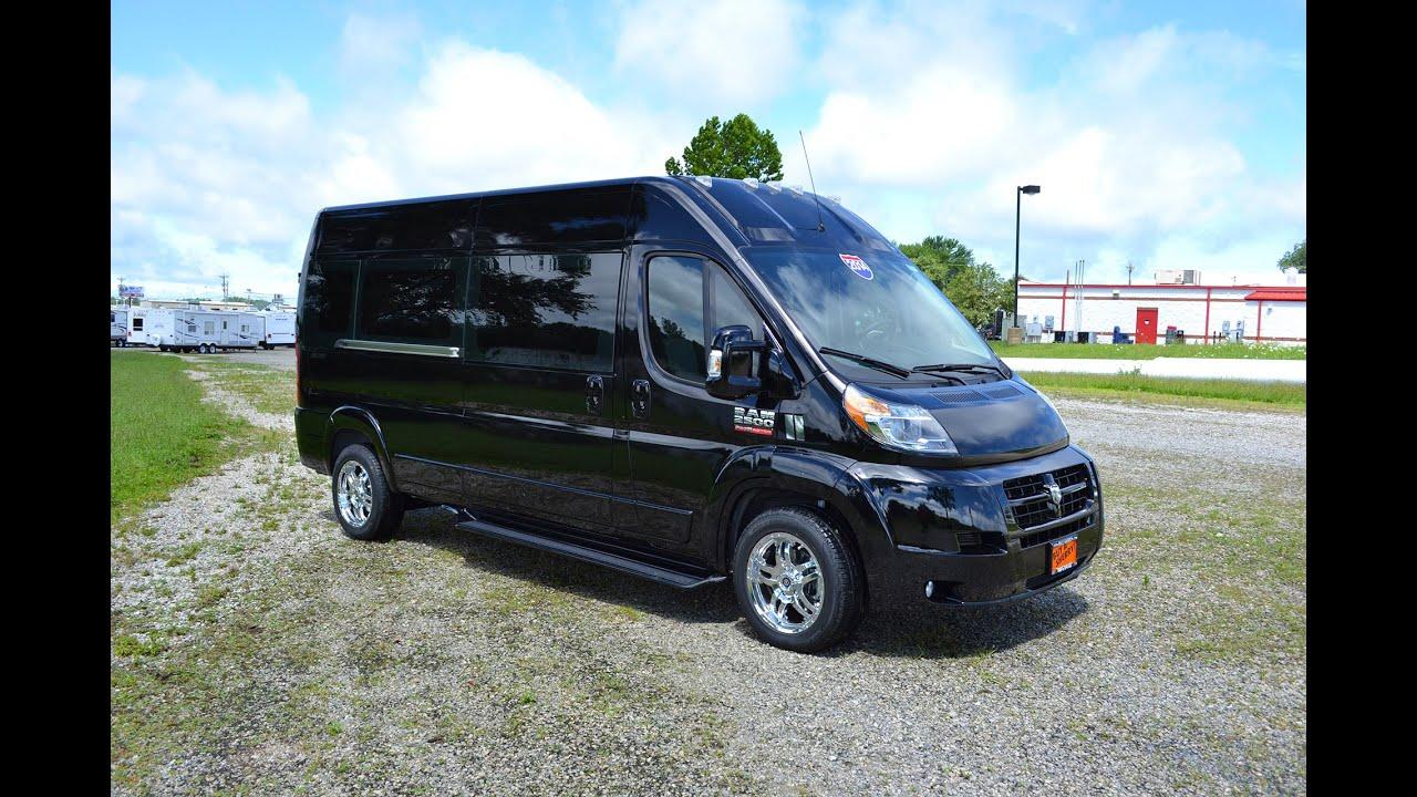 2014 Ram Promaster 9 Passenger High Top Conversion Van By