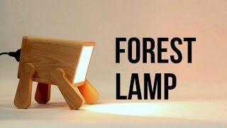 Настольный не обычный светильник своими руками DIY   Frank Lamp -Unusual lamp idea-своими руками