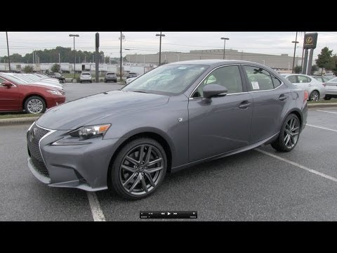 2014 Lexus IS350 F-Sport Start Up. Exhaust. and In Depth Review