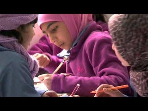 Сирийские школьники учат русский