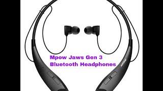 Mpow Jaws Gen 3 Bluetooth Headphones - Best Headphones