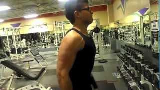 Weightloss Transformation Flexing 15 year old Bodybuilder